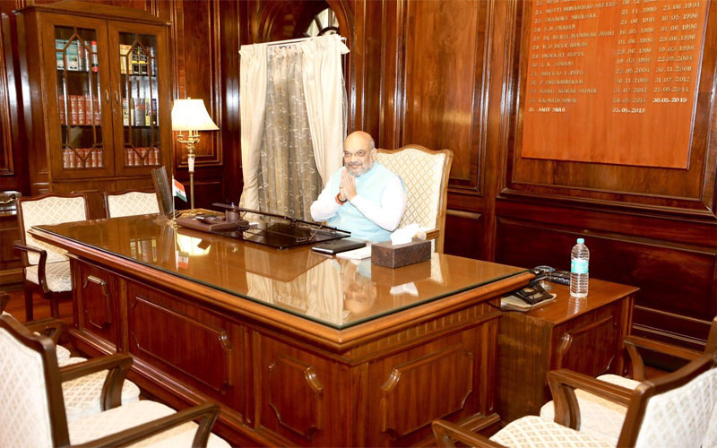 Amit Shah Home Minister Charge