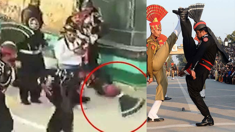 Wagah Border pakistani ranger video