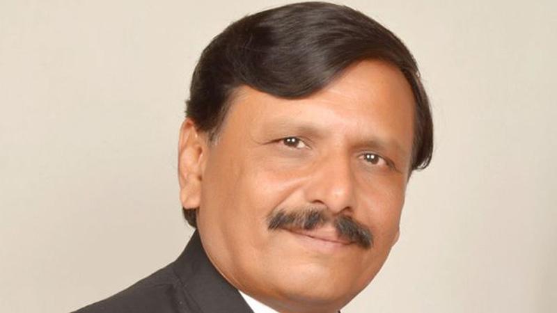 Congress leader Brijesh Meraj