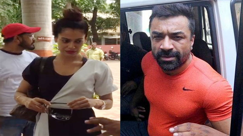 Payal Rohatgi and Ajaz Khan