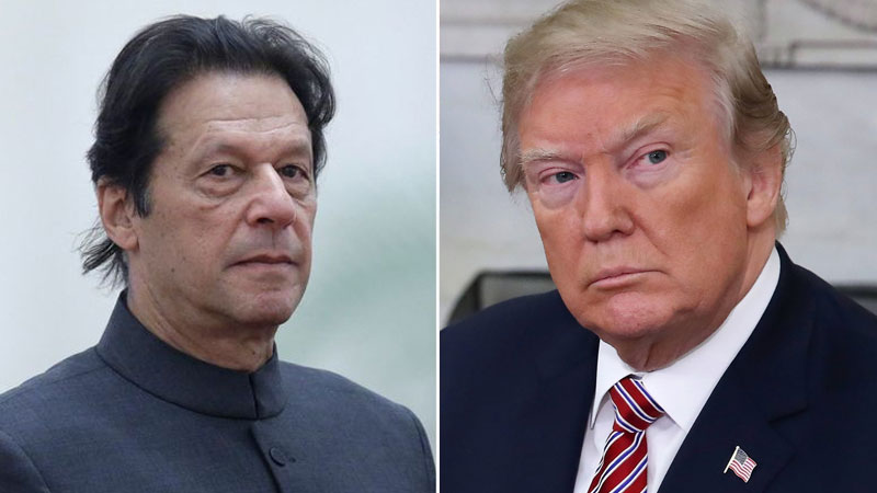 Imran Khan and Trump