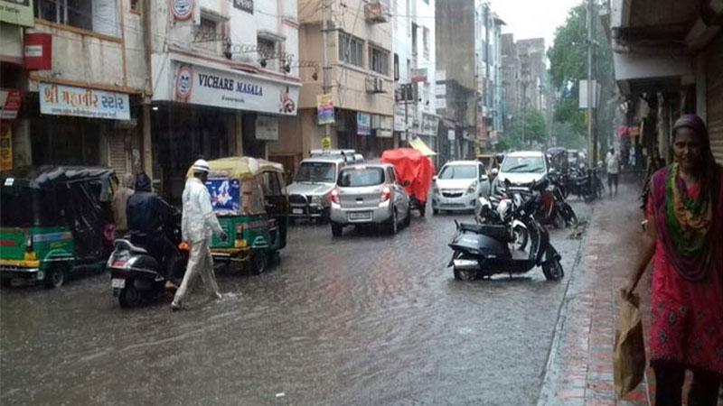 vadodara rain