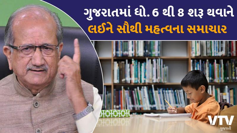 gandhinagr rupani cabinet school reopend