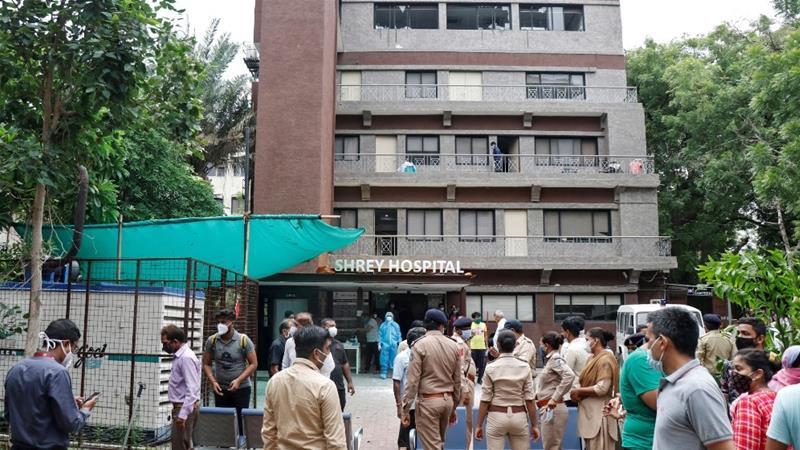 Ahmedabad Shrey hospital fire fir registered against bharat mahant
