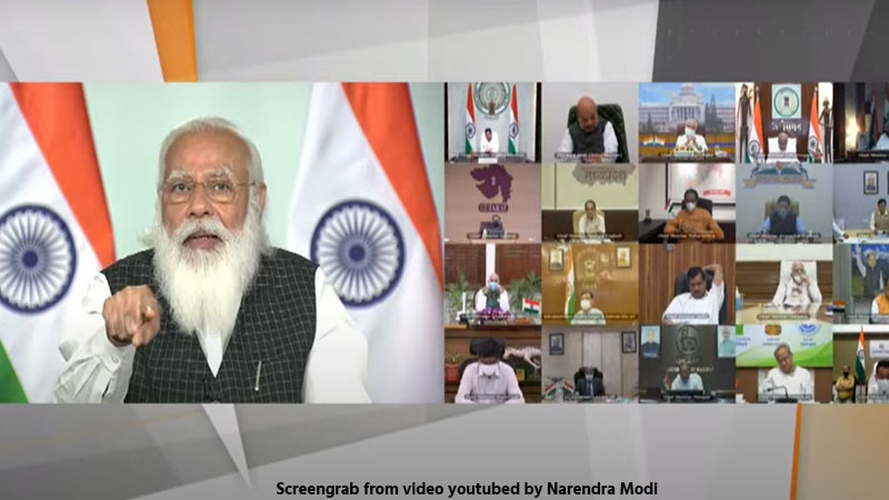 live-pm-narendra-modi-meeting-with-chief-ministers-on-corona-crisis-in-india