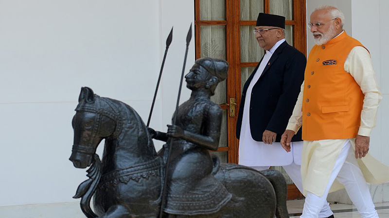 Nepal was stubborn at the behest of China, now if India needs corona vaccine, look what India said