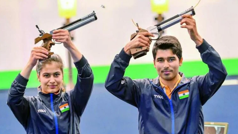 The 19-year-old Indian shooter made history, won titles and even broke world records.