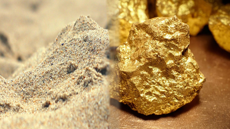The magical sand that turns to gold when heated, the jeweler bought it for Rs 50 lakh and ...
