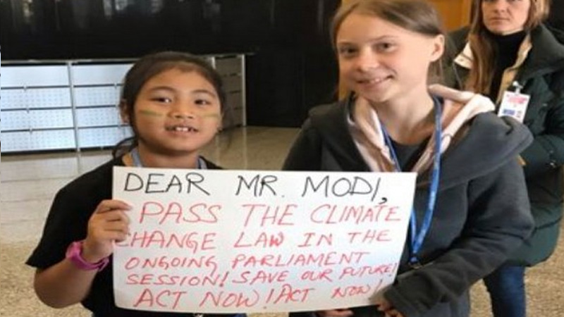 No less than Sweden's Greta, this Indian activist has been doing this wonderful job since he was 6 years old.