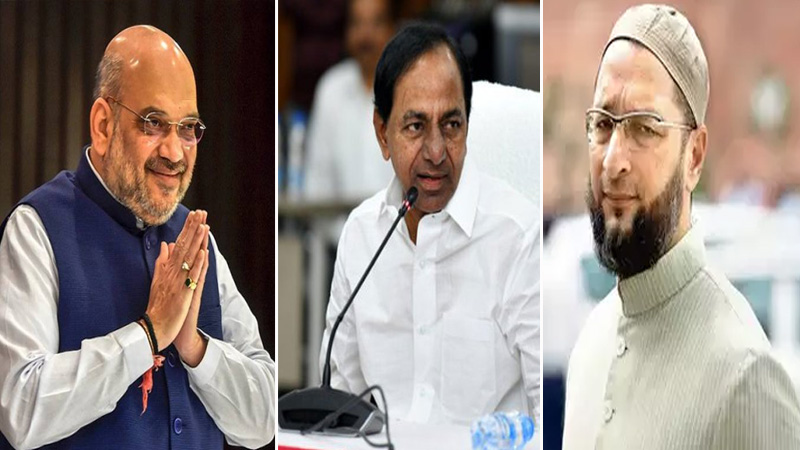 Area Tera, Dhamaka Hamara: BJP leader responds to Owaisi on election results in Hyderabad