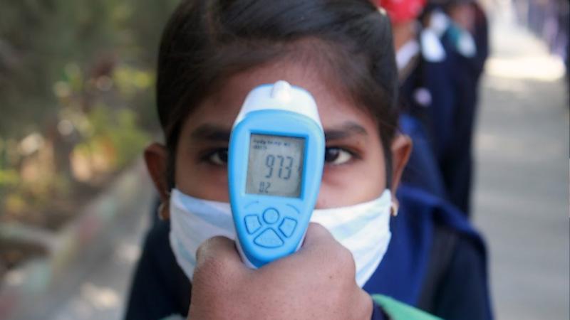 student reported positive coronavirus in Gujarat