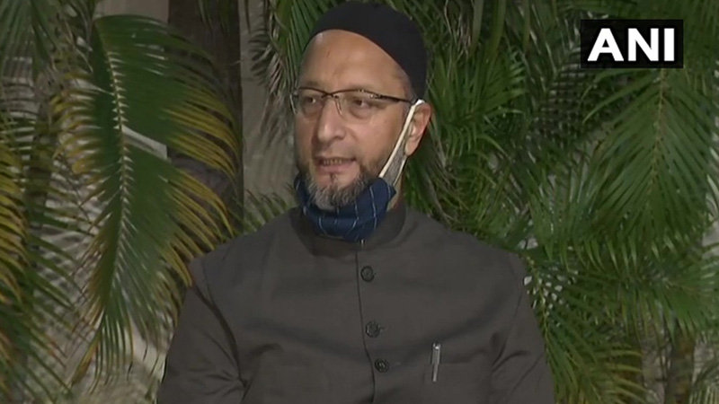 Owaisi's statement after the Hyderabad results,