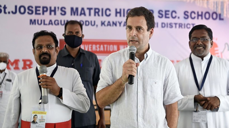 assembly-elections-restrain-rahul-gandhi-from-campaigning-in-tamil-nadu-bjp-plea-to-eci