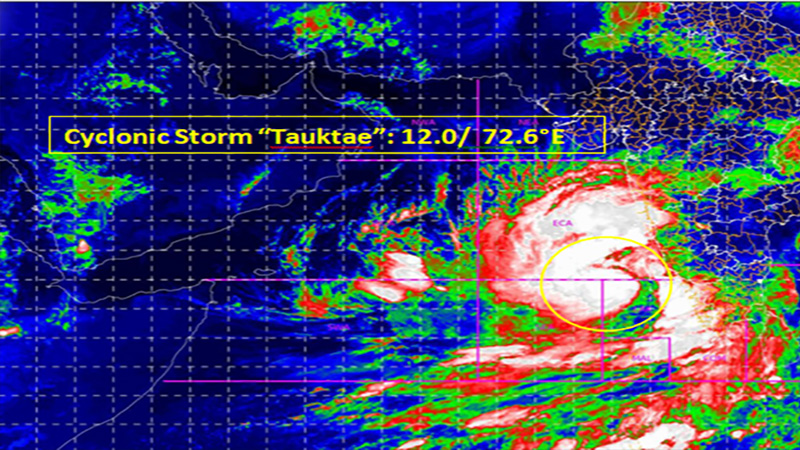 imd alert tauktae likely to be a very severe cyclonic storm