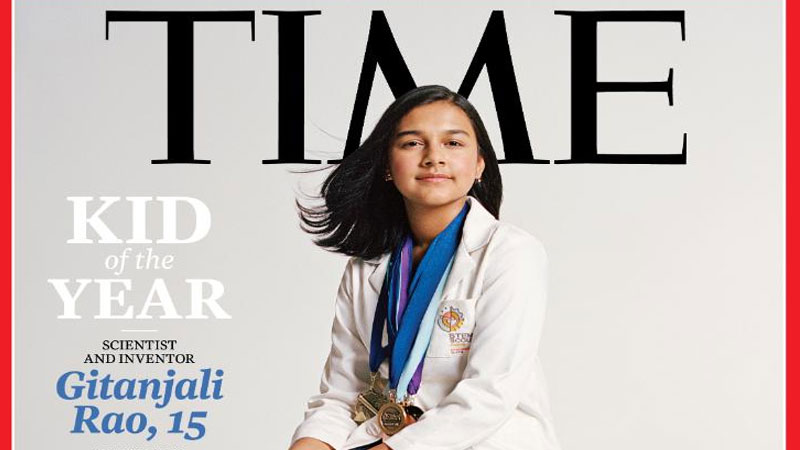 This Indian teenager won Time's first Children's Award, becoming the 'Kid of the Year' at just 15 years old.