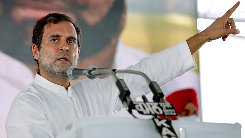 Rahul Gandhi took aim, saying,