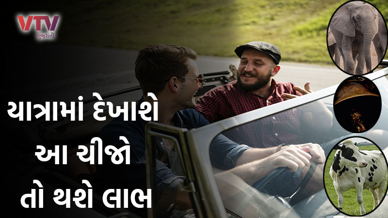 seeing these five things while travelling on road is considered auspicious