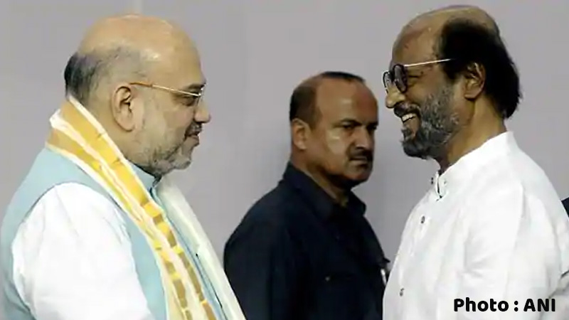 rss gurumurthi had met amit shah talked about rajikant political issue