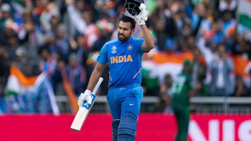 Rohit Sharma will make new history with this ball month first player international cricket