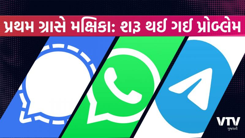 The big problem started soon when people startedto mooving this app from WhatsApp