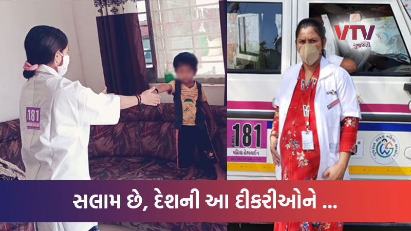 A salute to these Women: one was pregnant and on duty, the other could not touch the son