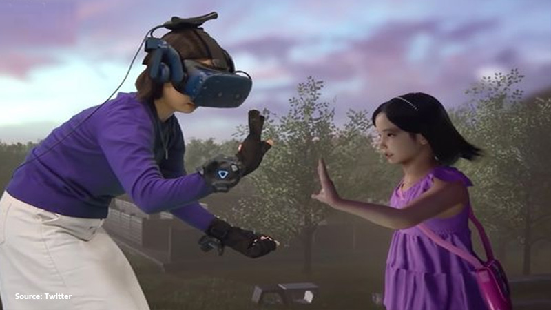 virtual reality helps mom meet her deceased daughter