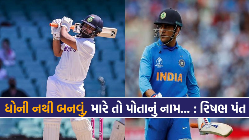 rishabh pant compared with MSdhoni