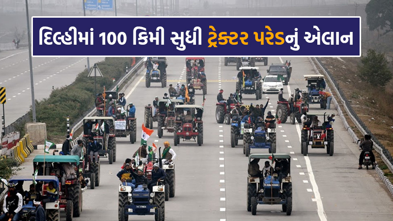 New Suspense on Tractor Parade: Different Opinions of Police and Farmers on this Issue