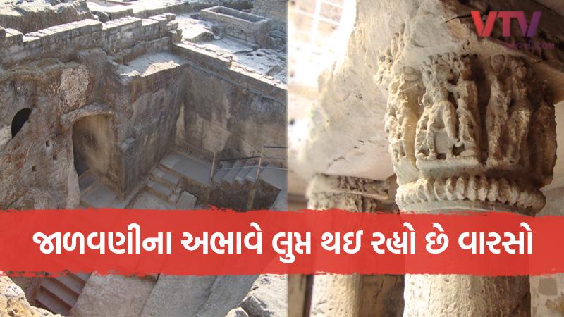 Department of Archeology Government of Gujarat Extinction junagadh dholavira