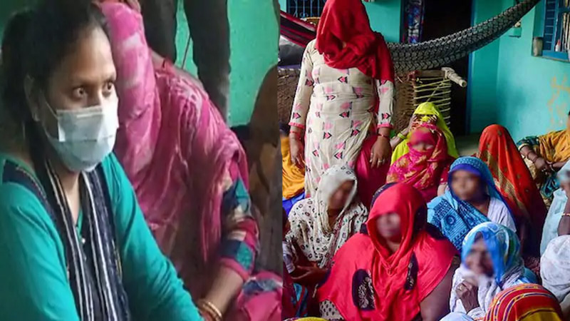 hathras suspected women said up police give evidence of naxal