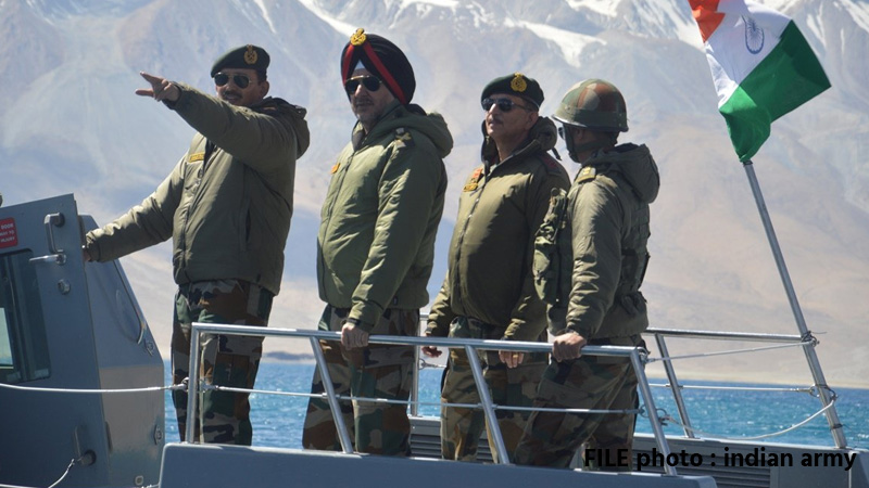 India sending high-powered boats to match heavier Chinese vessels while patrolling Ladakh lake