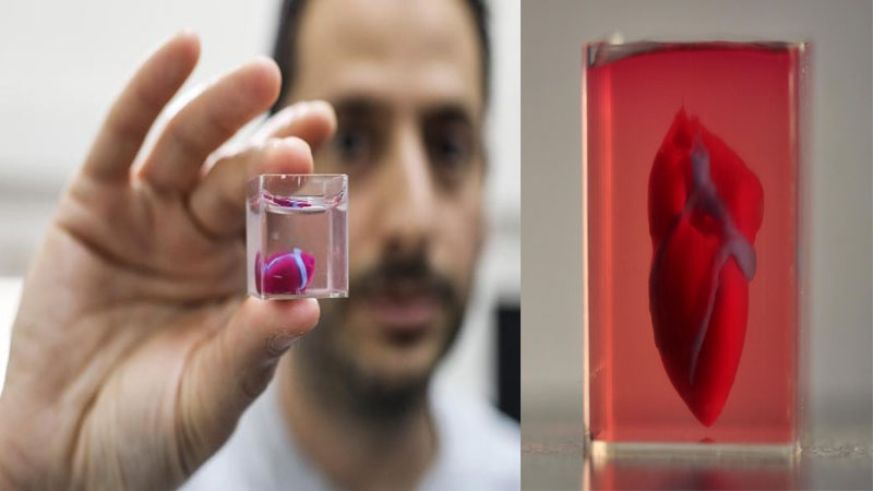 3D bioprinting heart by scientists
