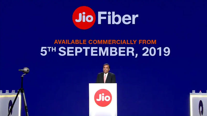 Jio GigaFiber : Know Price, Offers, Bookings And More