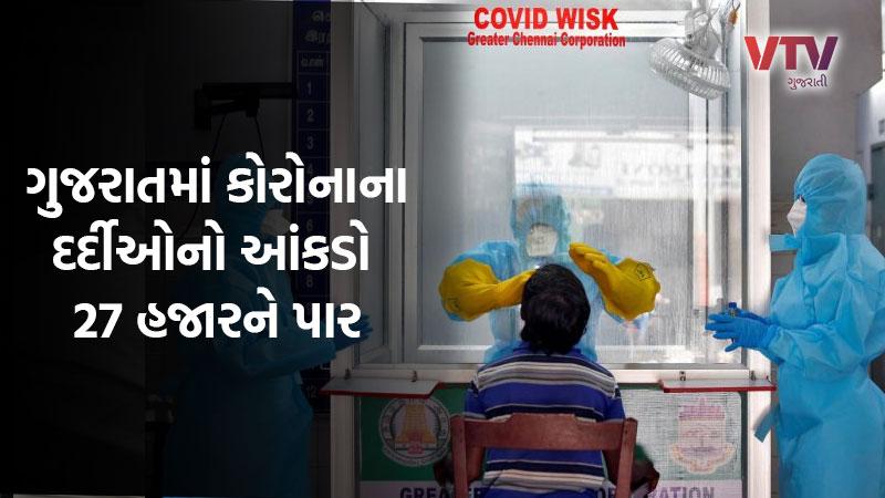 Gujarat health department coronavirus 21 June 2020 update Gujarat