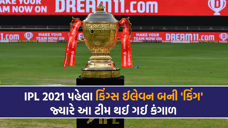 kings Eleven Punjab is richest in IPL Franchise auction 2021