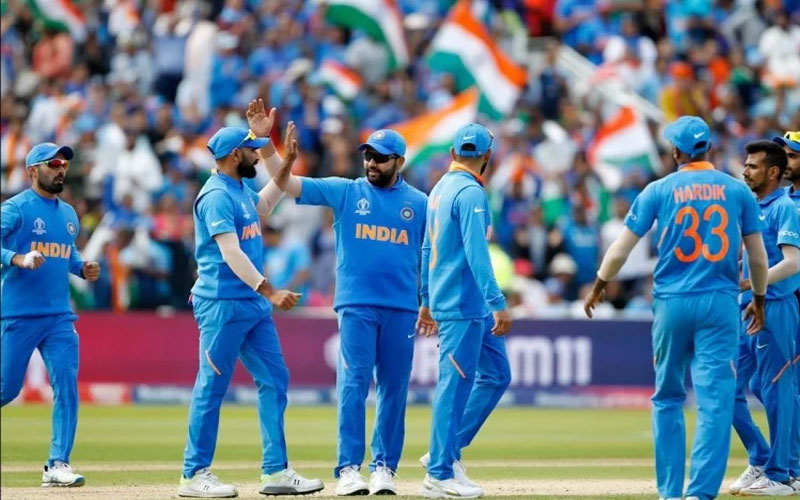 India qualifies for the semi-final with this win