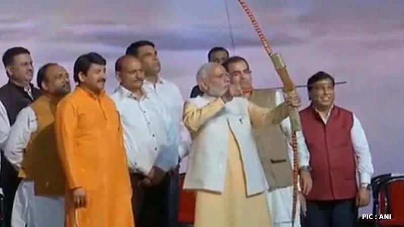 prime minister modi delhi metro ravandhahan dwarka