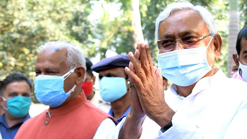 30 Years Old Tradition Will Break Nitish Kumar When Take Oath In Rajbhavan Patna Gandhi Maidan