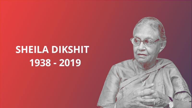 Delhi sheila Dixit passes away Omar Abdullah congress Amit shah Narendra Modi political reaction