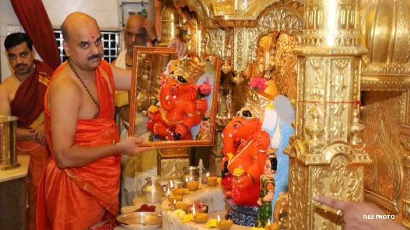 Siddhivinayak Temple gets 35 kg of gold as donation