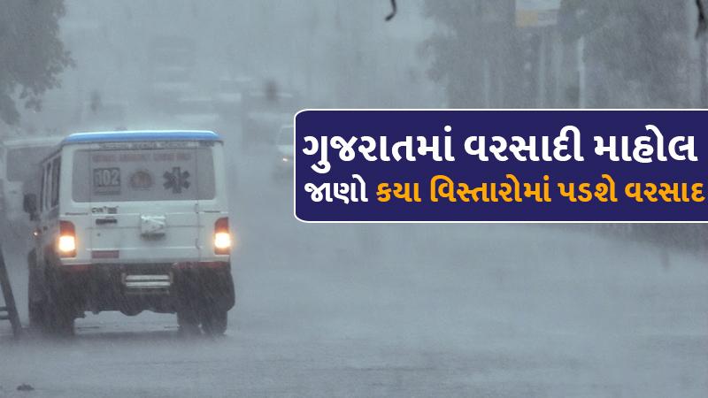 heavy rain forecast in south gujarat till 12 june