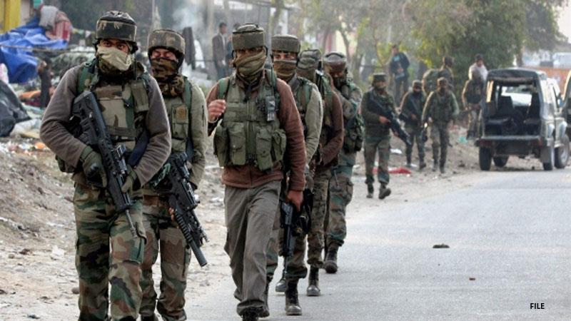 jammu kashmir baramulla security forces terrorist encounter