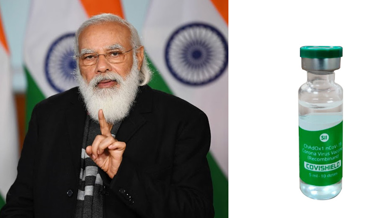 CORONA VACCINE PM MODI TWEETS AFTER INDIA APPROVES TWO CORONA VACCINE