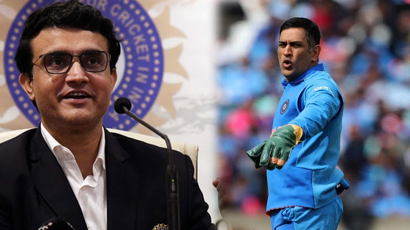 i did not expect that dhoni will handle captain-ship to me says saurav ganguly