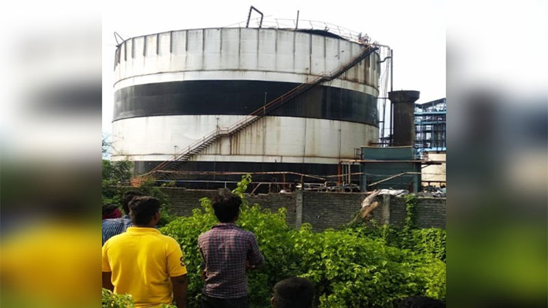 boiler explosion in factory nagpur