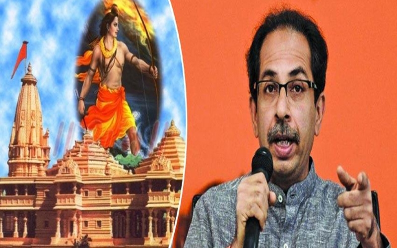 રામ મંદિર મામલે શિવસેના પ્રમુખ ઉદ્ધવ ઠાકરેનું સરકારને અલ્ટીમેટમ