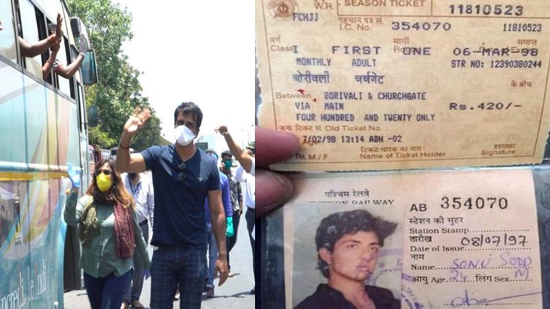 sonu sood 23 year old local train pass viral