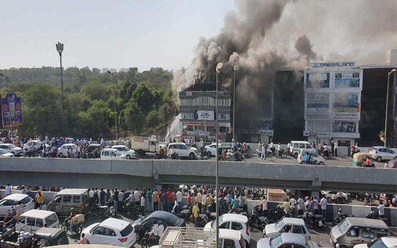 19 Dead In Surat Coaching Centre Fire