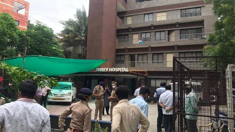 shrey hospital fire ahmedabad big decision of the government