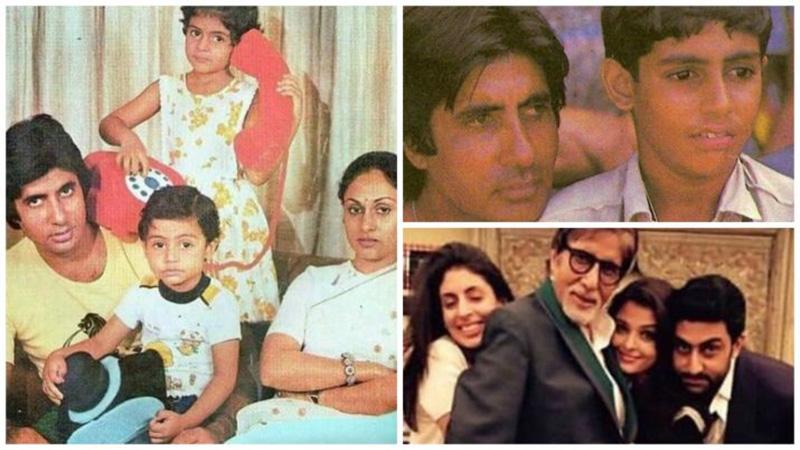 amitabh bachchan shared unseen pictures of shweta bachchan abhishek bachchan rakshabandhan 2019